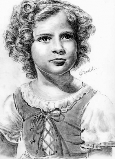 Shirley Temple par Jojemo